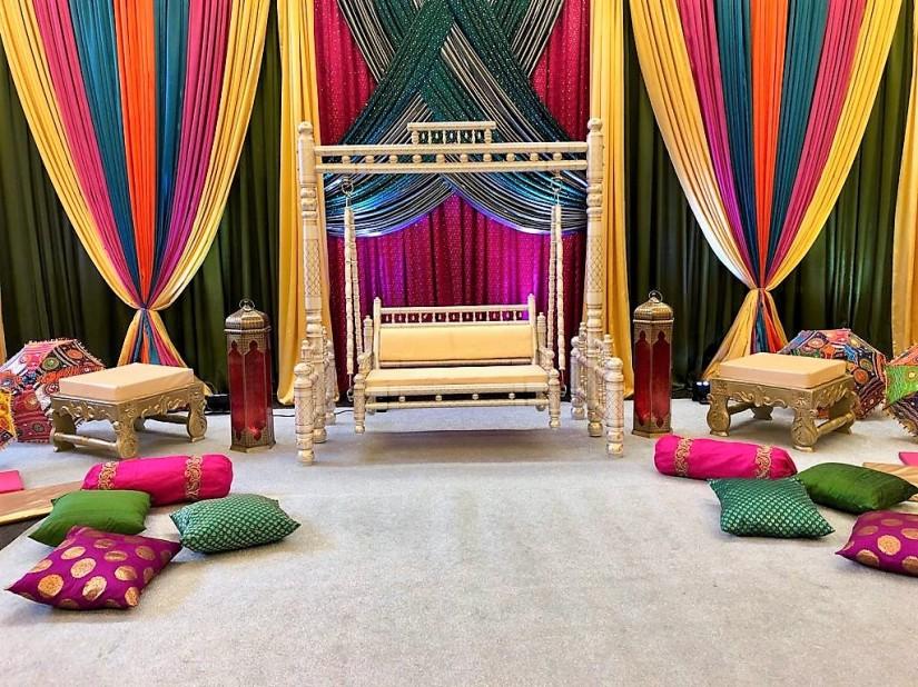 Avatar Decors Sangeet Setup