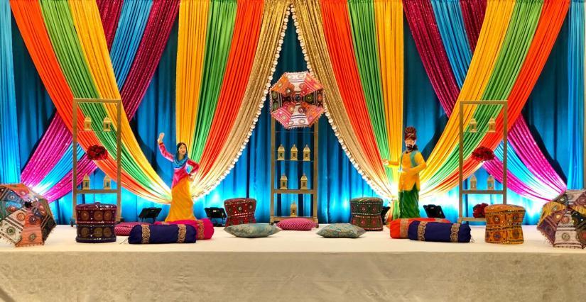 Avatar Decors Sangeet Setup 4