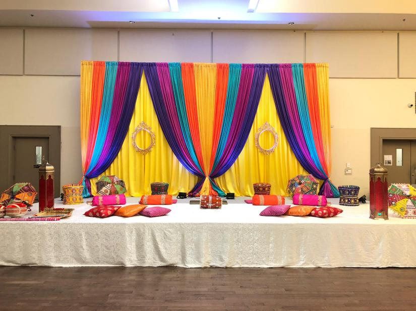 Avatar Decors Sangeet at Punjab culture center